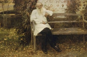 Tolstoy about a year before his death
