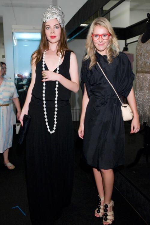 Ulyana and Ksenia Sobchak