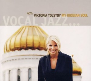 V. Tolstoy Swedish jazz singer with Russian roots