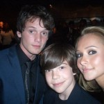 Yelchin and Hayden Panettiere