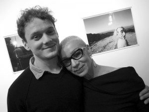 Yelchin and his mother