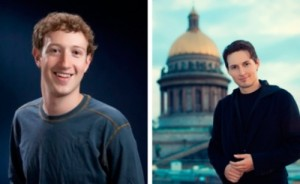 Zuckerberg and Durov