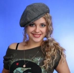 A. Karelina beautiful Russian actress