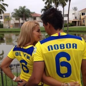 Christian and his beautiful Russian wife Olga