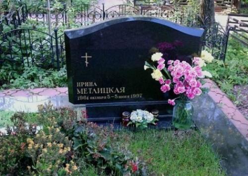 Metlitskaya's grave