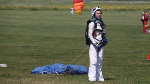 I. Sinitsyna – skydiving champion