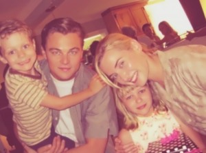 Leo and Kate Winslet