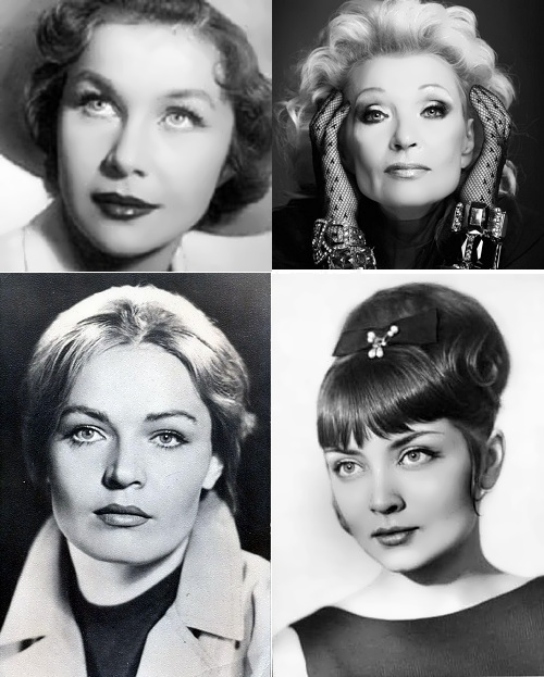 Most beautiful Soviet actresses