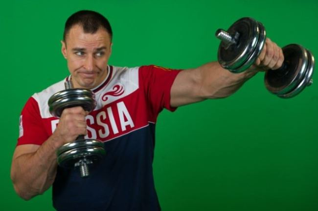 Alexey Voyevoda – armwrestler and bodsledder