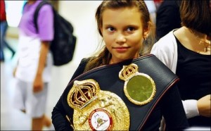 Povetkin daughter