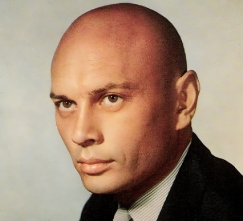 Yu. Brynner – American actor from Russia