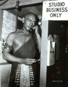 Brynner Yul handsome actor