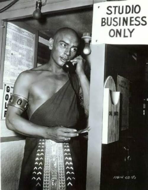 Brynner Yul handsome actor