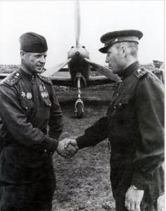 Klubov and Aleksandr Pokryshkin