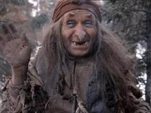 Georgi Millyar as Baba Yaga