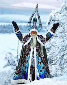 mongol santa