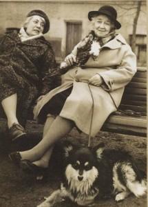 Ranevskaya and saved dog