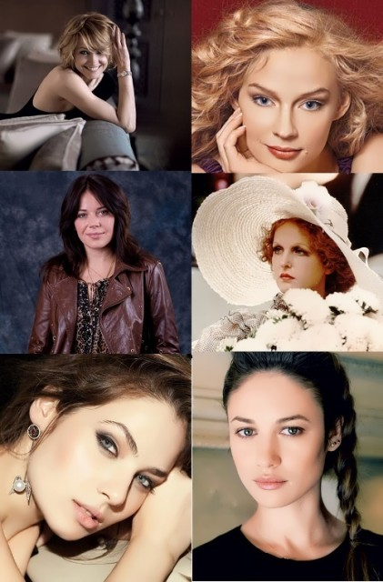 Russian actresses in Hollywood
