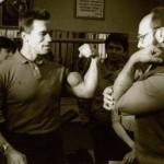 Arnold Schwarzenegger and Yuri Vlasov