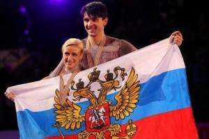 Stunning Tatiana Volosozhar and Maxim Trankov