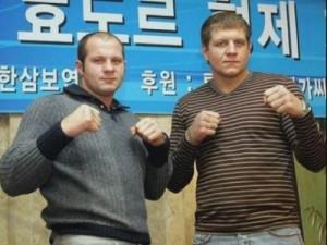 Emelianenko brothers