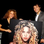 Shakira and Daniil Fedorov