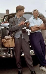 Abramochkin and Yuri Yuri Gagarin, 1961