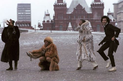 Boney M on the Red Square, 1978