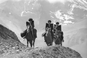 Horsemen. Dagestan, 1968