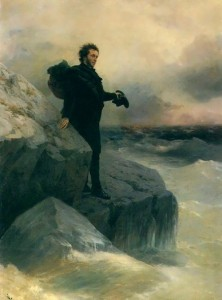 Ivan Aivazovsky and Ilya Repin. 1887