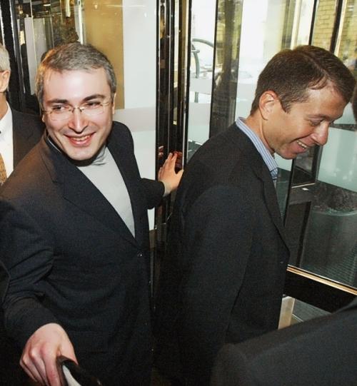 Khodorkovsky and Roman Abramovich