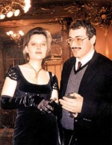 Khodorkovsky, his wife