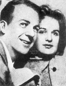 Marina Prusakova and Lee Harvey