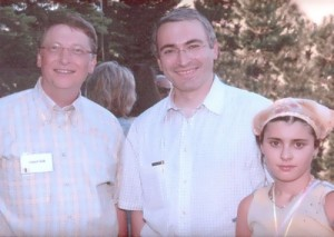 Khodorkovsky and Bill Gates