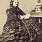 Natalia Lanskaya nee Goncharova. 1860