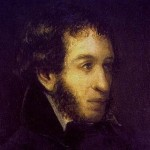 Brilliant Pushkin in the year of his death in 1837. I. Livnev