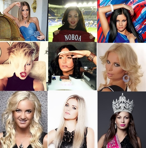 Famous Footballers Russian Wives