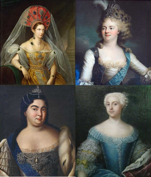 Russian Tsars - Non-Russian wives