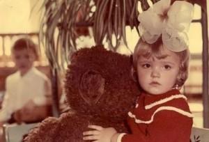Alexandra Nikolaenko in the kindergarden