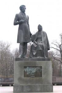 Arina Rodionovna and Pushkin