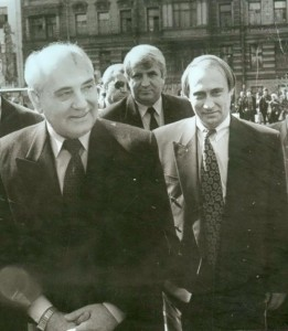 Gorbachev Putin