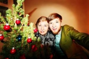 Igor and his grandma Lidia