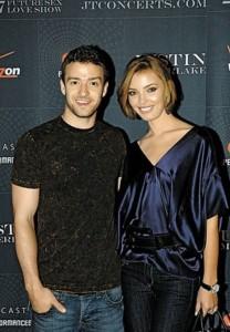 Justin Timberlake and Alexandra