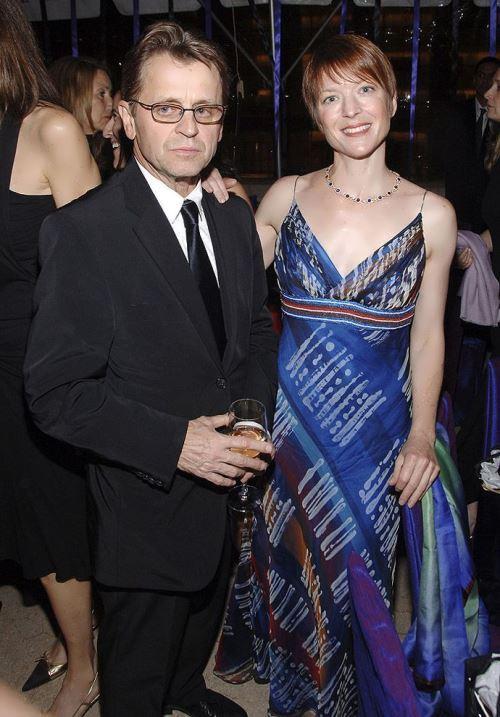 Baryshnikov and Lisa Rinehart