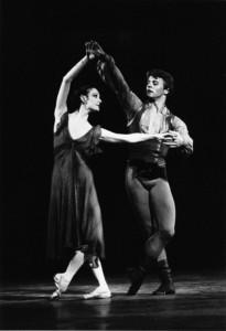 Baryshnikov and Patricia McBride