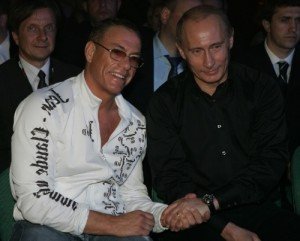 Putin and Van Damme
