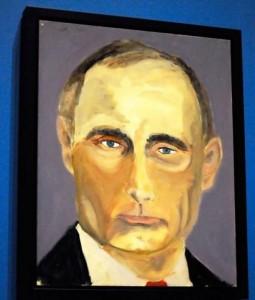 Portrait of Putin by George W. Bush