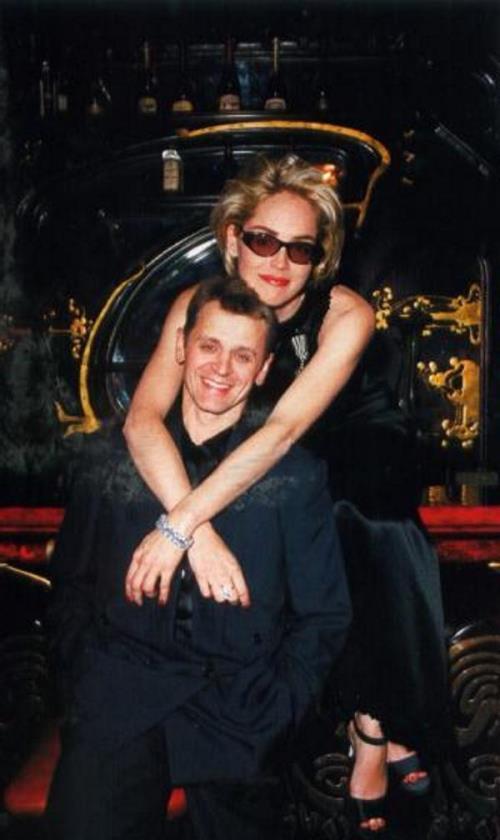 Sharon Stone and Baryshnikov