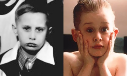 Vladimir Putin and Macaulay Culkin