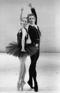 Baryshnikov with Natalia Makarova